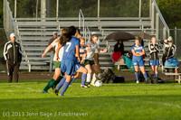 8299 Girls Soccer v Life-Chr 092313