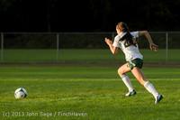 8326 Girls Soccer v Life-Chr 092313