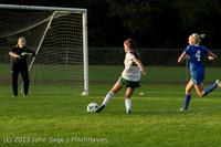 8329 Girls Soccer v Life-Chr 092313