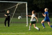 8330 Girls Soccer v Life-Chr 092313