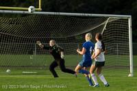 8335 Girls Soccer v Life-Chr 092313
