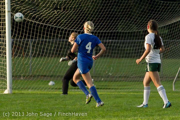 8339 Girls Soccer v Life-Chr 092313