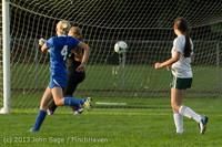 8341 Girls Soccer v Life-Chr 092313