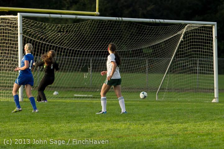 8343 Girls Soccer v Life-Chr 092313