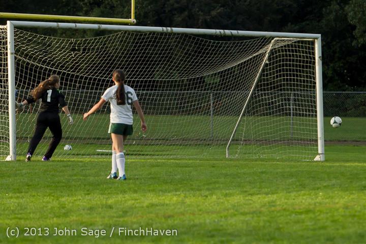 8347 Girls Soccer v Life-Chr 092313