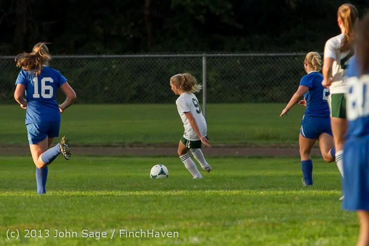 8352 Girls Soccer v Life-Chr 092313
