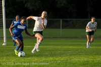 8362 Girls Soccer v Life-Chr 092313