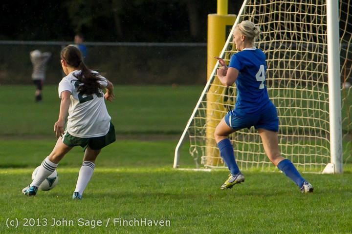 8369 Girls Soccer v Life-Chr 092313