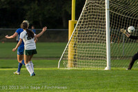 8373 Girls Soccer v Life-Chr 092313