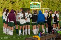 8393 Girls Soccer v Life-Chr 092313