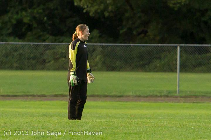 8419 Girls Soccer v Life-Chr 092313