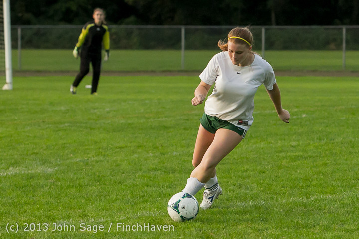 8428 Girls Soccer v Life-Chr 092313