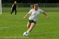 8429 Girls Soccer v Life-Chr 092313