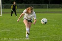 8431 Girls Soccer v Life-Chr 092313