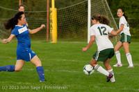 8446 Girls Soccer v Life-Chr 092313