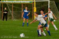 8449 Girls Soccer v Life-Chr 092313
