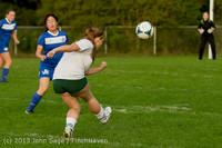 8459 Girls Soccer v Life-Chr 092313