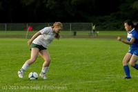8465 Girls Soccer v Life-Chr 092313