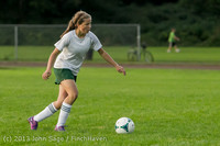 8473 Girls Soccer v Life-Chr 092313