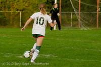 8479 Girls Soccer v Life-Chr 092313
