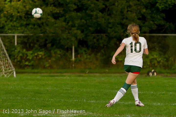 8489 Girls Soccer v Life-Chr 092313