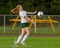 8507 Girls Soccer v Life-Chr 092313