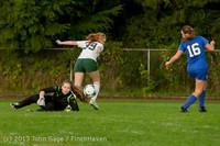 8518 Girls Soccer v Life-Chr 092313