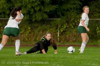 8521 Girls Soccer v Life-Chr 092313