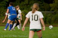 8528 Girls Soccer v Life-Chr 092313