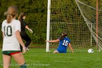 8531 Girls Soccer v Life-Chr 092313