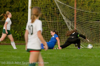 8539 Girls Soccer v Life-Chr 092313