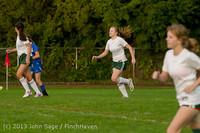 8553 Girls Soccer v Life-Chr 092313