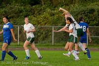 8556 Girls Soccer v Life-Chr 092313