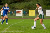 8562 Girls Soccer v Life-Chr 092313