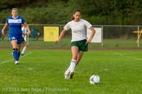 8567 Girls Soccer v Life-Chr 092313