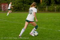 8570 Girls Soccer v Life-Chr 092313