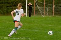 8576 Girls Soccer v Life-Chr 092313