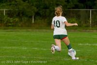 8578 Girls Soccer v Life-Chr 092313