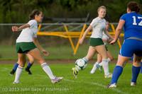 8602 Girls Soccer v Life-Chr 092313