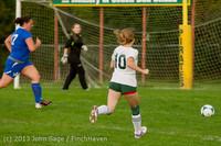 8609 Girls Soccer v Life-Chr 092313