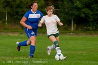 8621 Girls Soccer v Life-Chr 092313