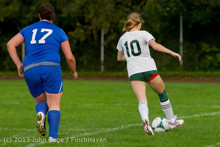8628 Girls Soccer v Life-Chr 092313