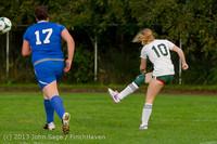8632 Girls Soccer v Life-Chr 092313
