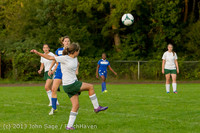 8639 Girls Soccer v Life-Chr 092313