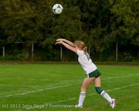 8646 Girls Soccer v Life-Chr 092313