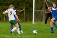 8652 Girls Soccer v Life-Chr 092313
