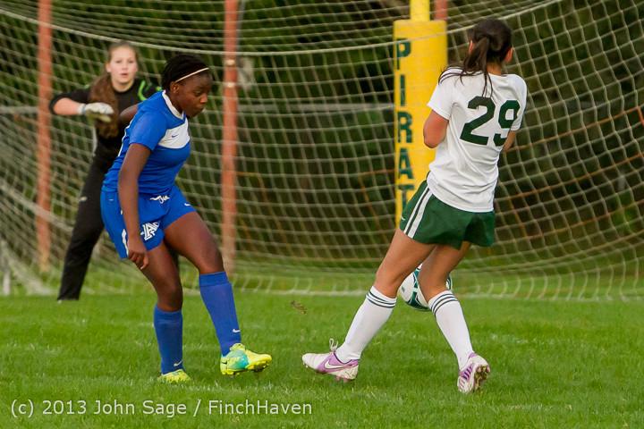8662 Girls Soccer v Life-Chr 092313