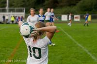 8676 Girls Soccer v Life-Chr 092313