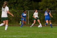 8688 Girls Soccer v Life-Chr 092313