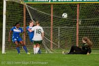 8690 Girls Soccer v Life-Chr 092313